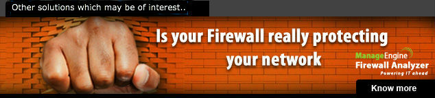 Firewall Analyzer Ad