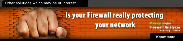 Firewall Analyzer Ad
