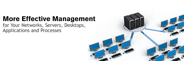 Manage your networks, servers and applications