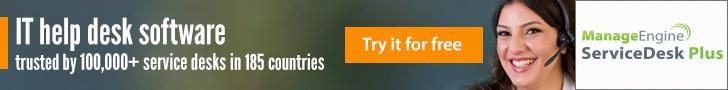 ServiceDesk Plus Ad